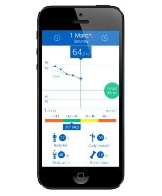 Personal scale BS 440 connect smartphone app