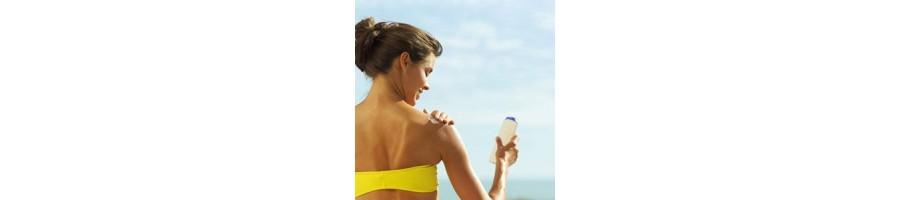 مستحضرات التجميل - علاج البشرة بعد الشمس